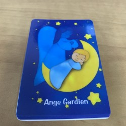 Carte de prière Ange gardien