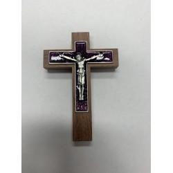 Crucifix en bois 4 pouces