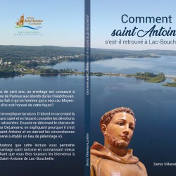Livre Comment saint Antoine s'est-il retrouvé à Lac-Bouchette?