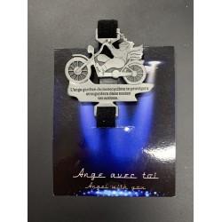 Ange de la route avec clip velcro pour moto