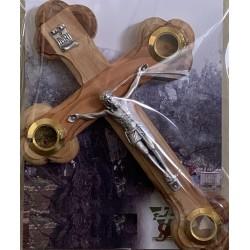 Crucifix en bois 5.25 pouces