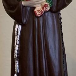 Statue de Saint-François d'Assise en polymère
