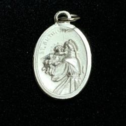 Médaille de Saint-Antoine couleur argent
